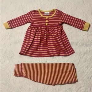 Hanna Andersson wiggle set size 80